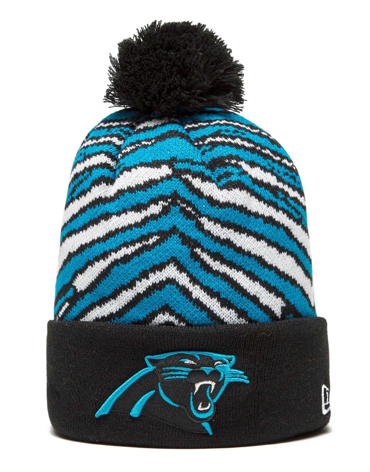 New Era NFL Carolina Panthers Zubaz Bobble Hat