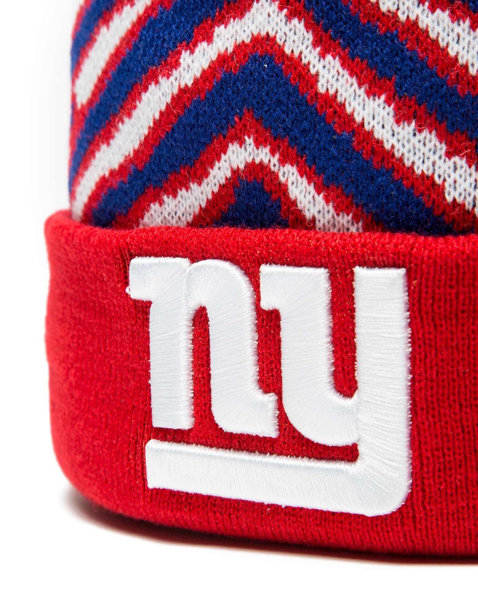 New Era NFL New York Giants Zubaz Bobble Hat