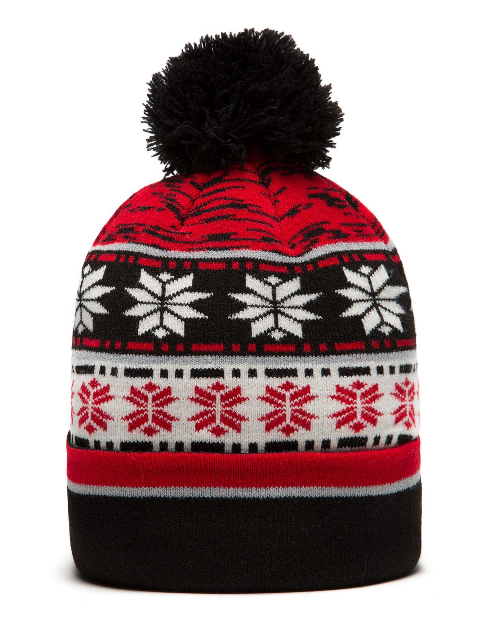 New Era NHL Chicago Blackhawks Blizzard Bobble Hat