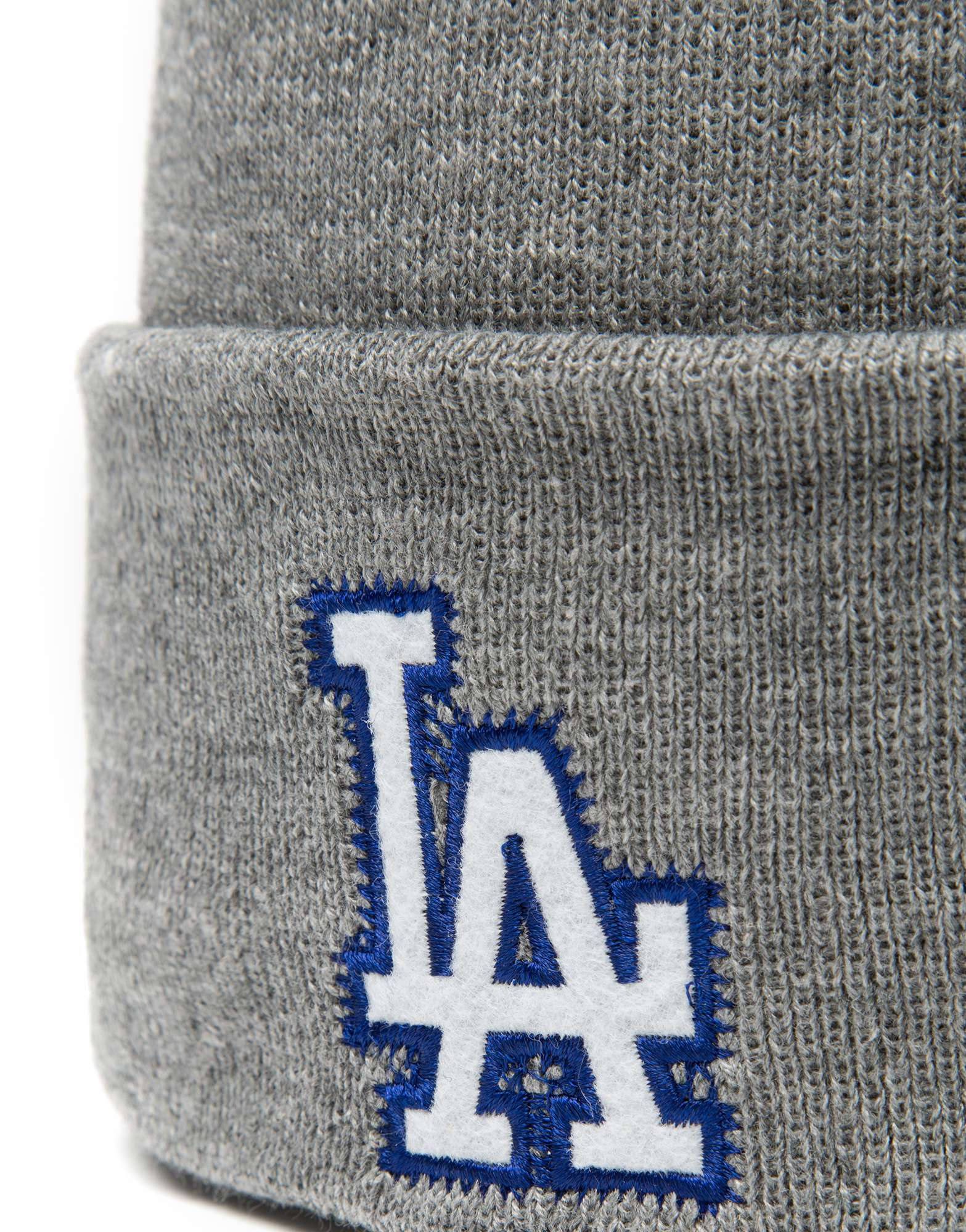 New Era MLB Los Angeles Dodgers Wide Grey Hat