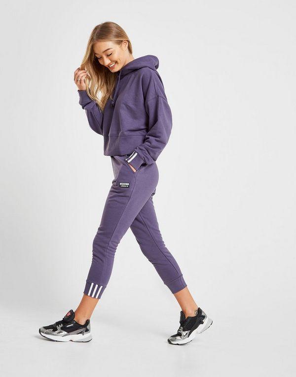 9591cbe8d7d94 adidas Originals R.Y.V Sweat à capuche court Femme | JD Sports