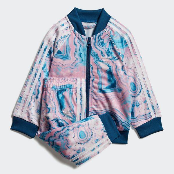 994acd018ff1 adidas Originals Girl s Marble SST Set Tracksuit Infant