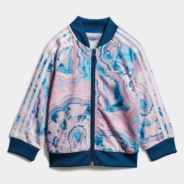 edefc27e67f4 adidas Originals Girl s Marble SST Set Tracksuit Infant