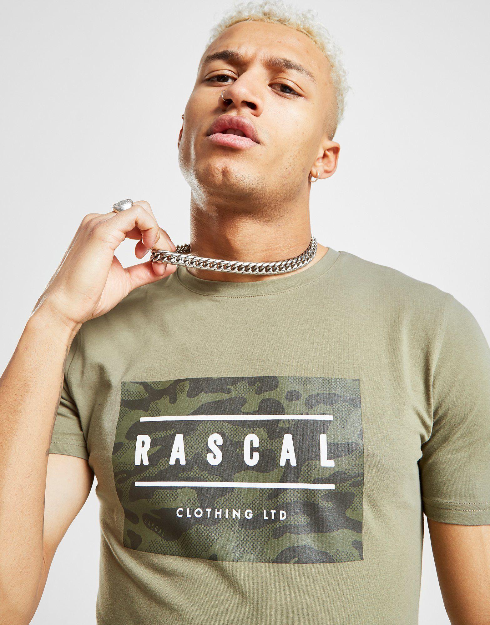 Rascal Excel Longline Reflective Camo T-Shirt