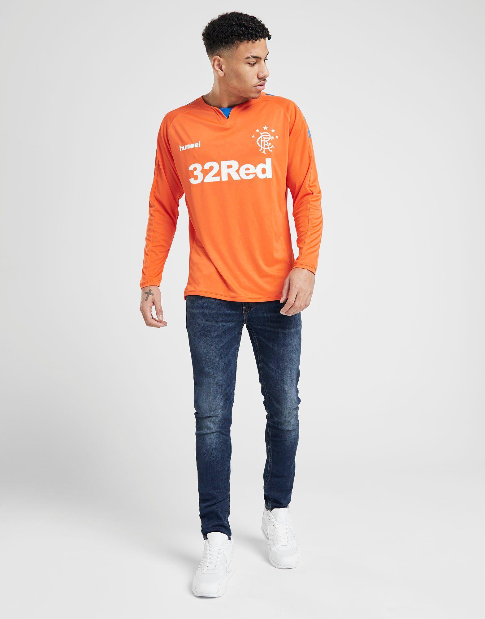 Hummel Rangers FC 2018/19 Long Sleeve Home Shirt
