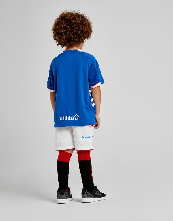 Hummel Rangers FC 2018 19 Home Kit Children  f6cf14402