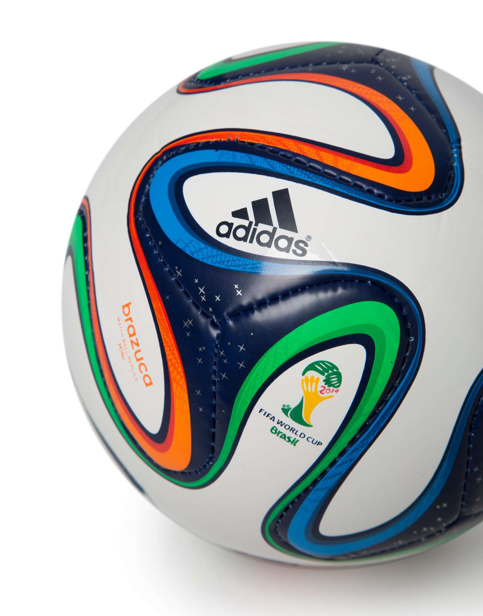 adidas Brazuca FIFA 2014 World Cup Mini Football