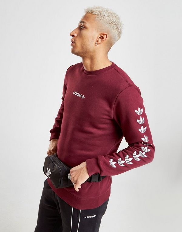 Adidas Originals Crew Tape Sports Sweat HommeJd Qqr ymNn8wP0vO
