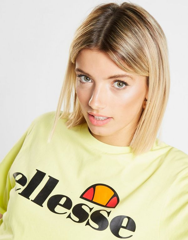 Ellesse Core Logo Crop T-Shirt