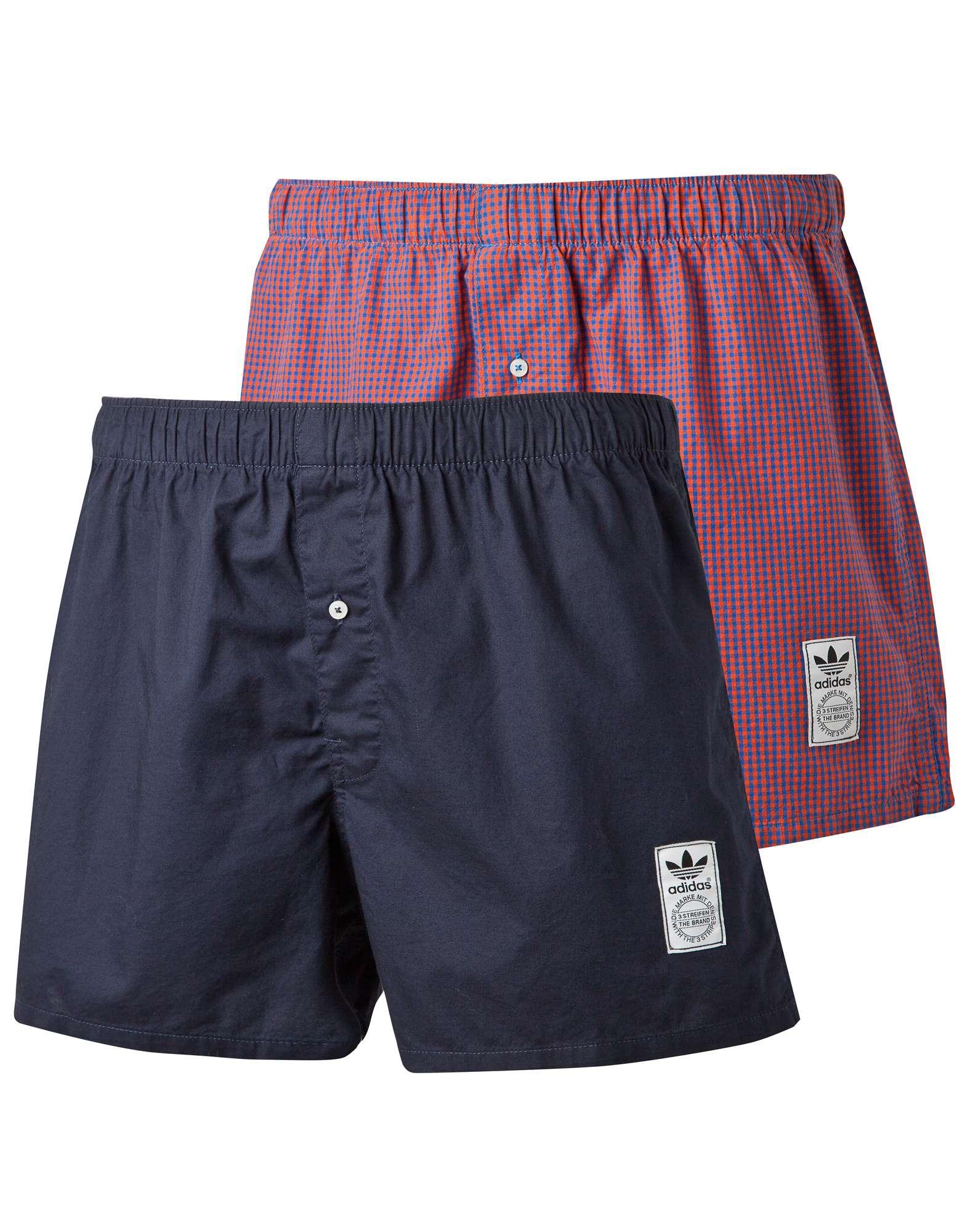 adidas Originals 2 Pack Boxer Shorts