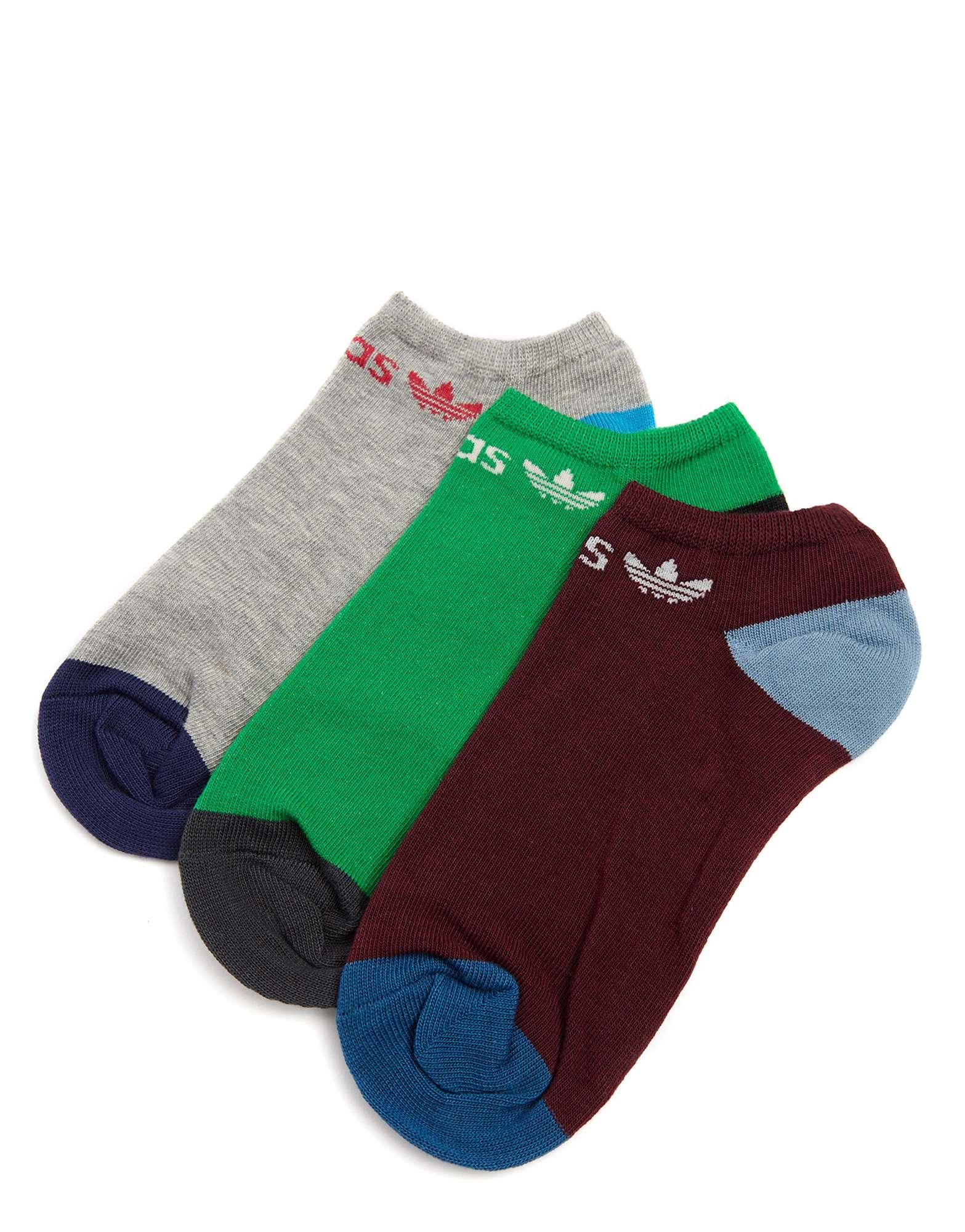 adidas Originals 3 Pack Trainer Socks