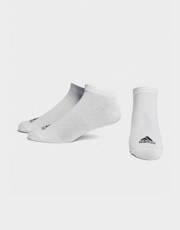 adidas 3 Pack Invisible Socks