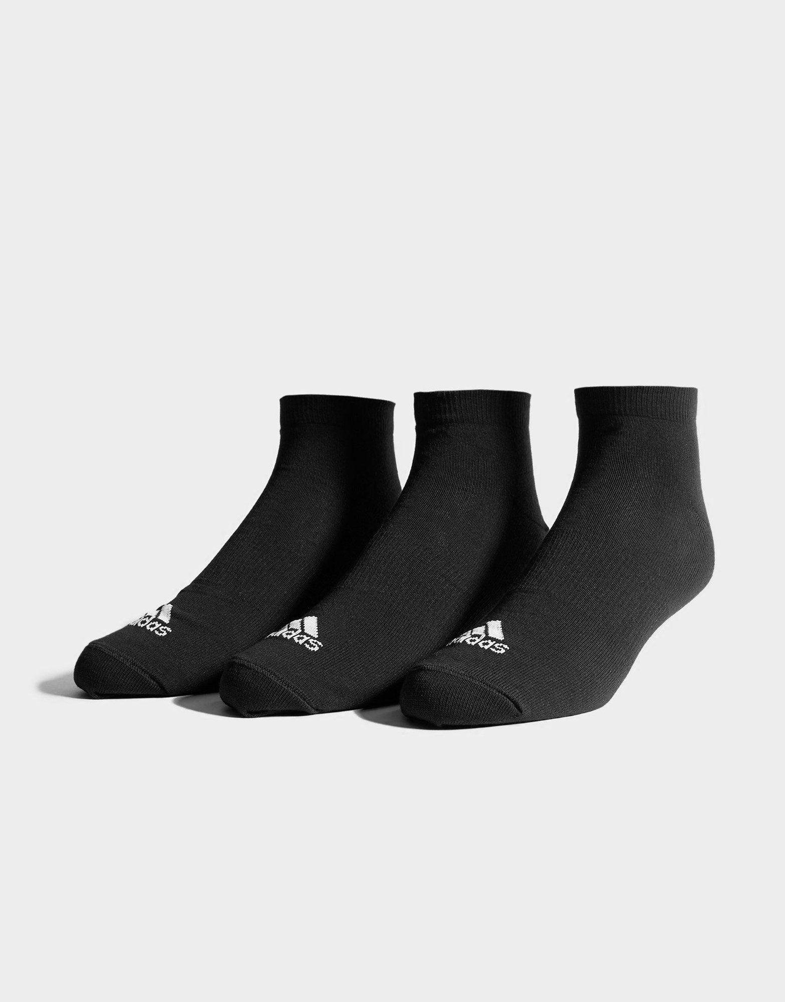 adidas 3-pak korte sokker