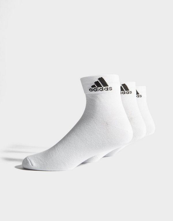ADIDAS Performance Thin Ankle Socks 3 Pairs  bcf4edc88c49