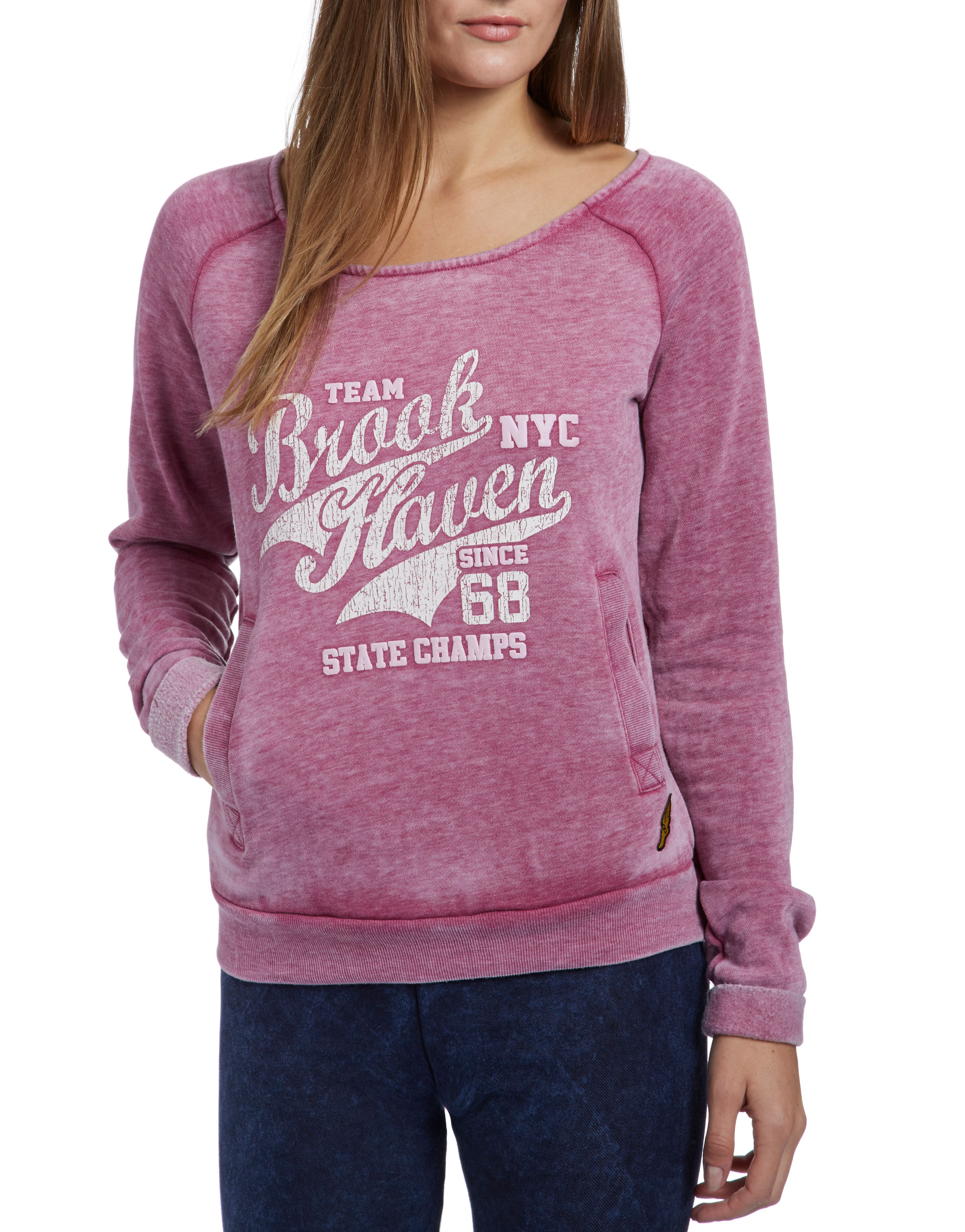 Brookhaven Carrie Burnout Sweater