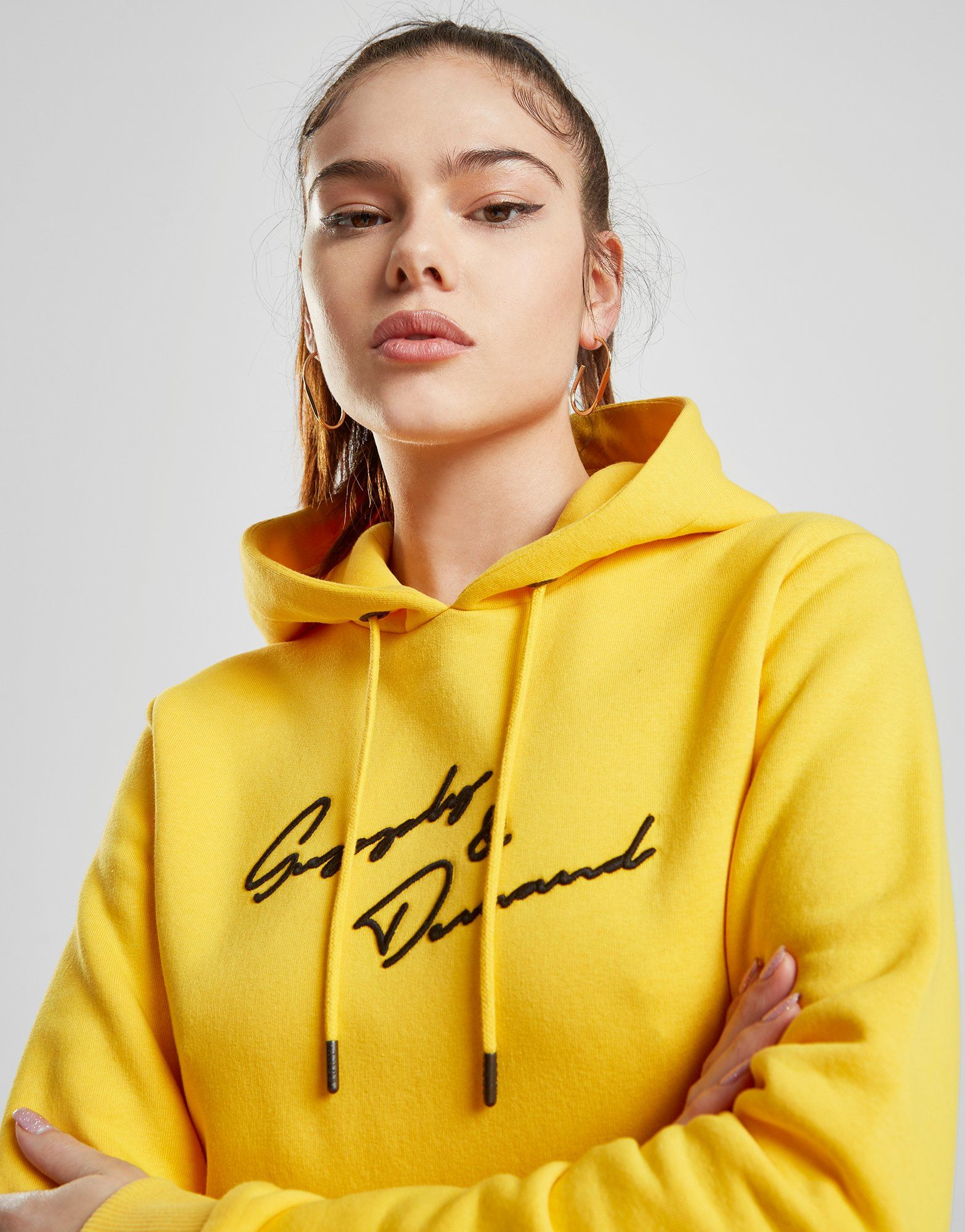 Supply & Demand Script Logo Hoodie