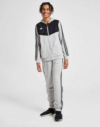 adidas Originals Tiro Hooded Poly Tracksuit Junior
