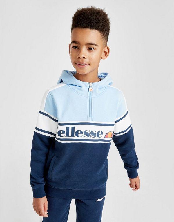 a8af52df82 Ellesse Tenia 1/4 Zip Fleece Hoodie Junior | JD Sports Ireland