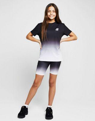 ILLUSIVE LONDON Girls' Tape Fade Cycle Shorts Junior