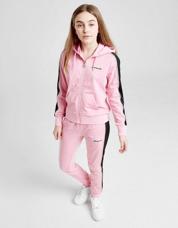 ea7de8b8da Ellesse Girls' Poly Full Zip Tracksuit Junior | JD Sports Ireland
