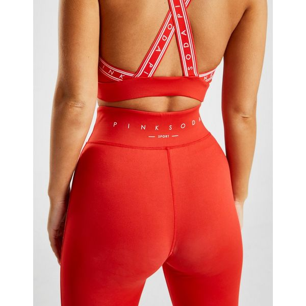 Jd Fitness Leggings: Pink Soda Sport Tape Fitness Tights