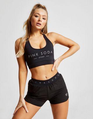 Pink Soda Sport Core 2-In-1 Shorts