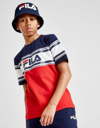Fila Mally Colour Block T-Shirt Junior