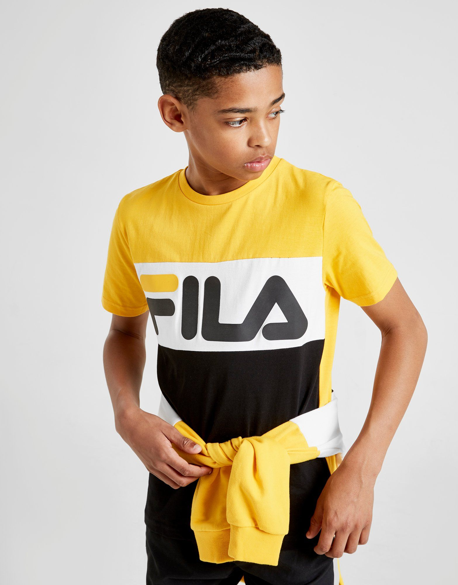 Fila T-shirt Mick Colour Block Junior