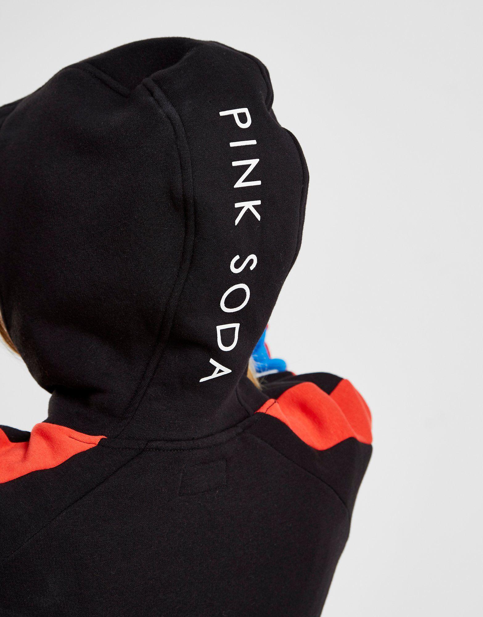 Pink Soda Sport Honour Super Crop Hoodie