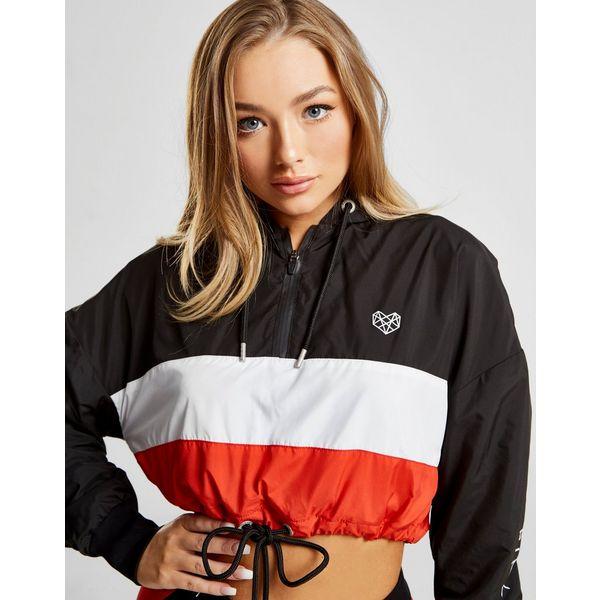 Pink Soda Sport Colour Block Crop Jacket