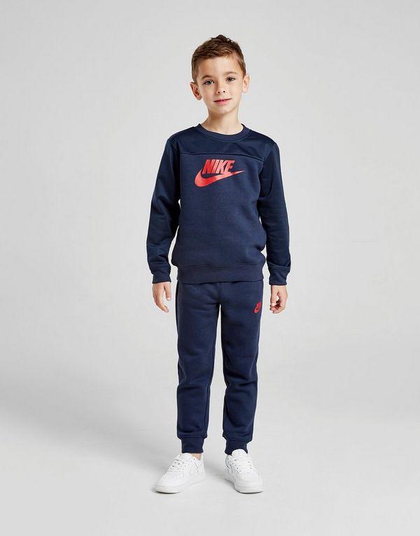 5f3af65285b Nike Hybrid Mix Crew Tracksuit Children | JD Sports Ireland