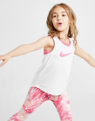 Nike Girls' 2-in-1 Tank Top Children
