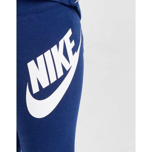 Nike Girls' Shine Print Crew/Leggings Set Baby's