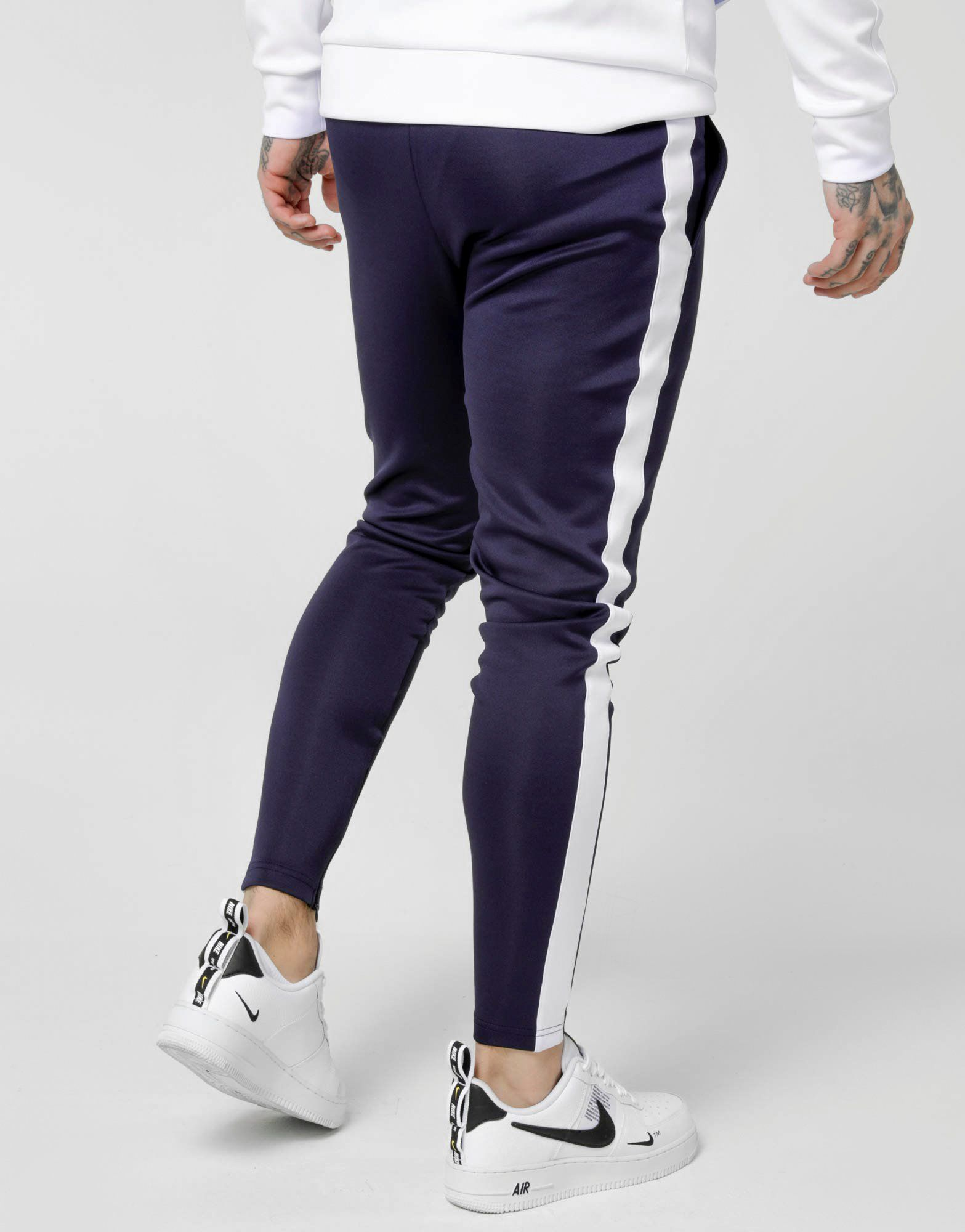 SikSilk Tape Panel Poly Track Pants