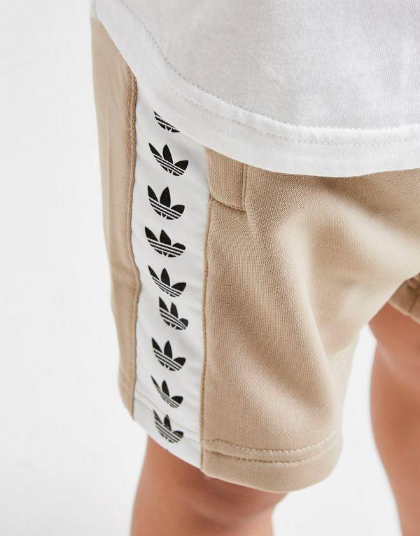 adidas Originals Tape T-Shirt/Shorts Set Children
