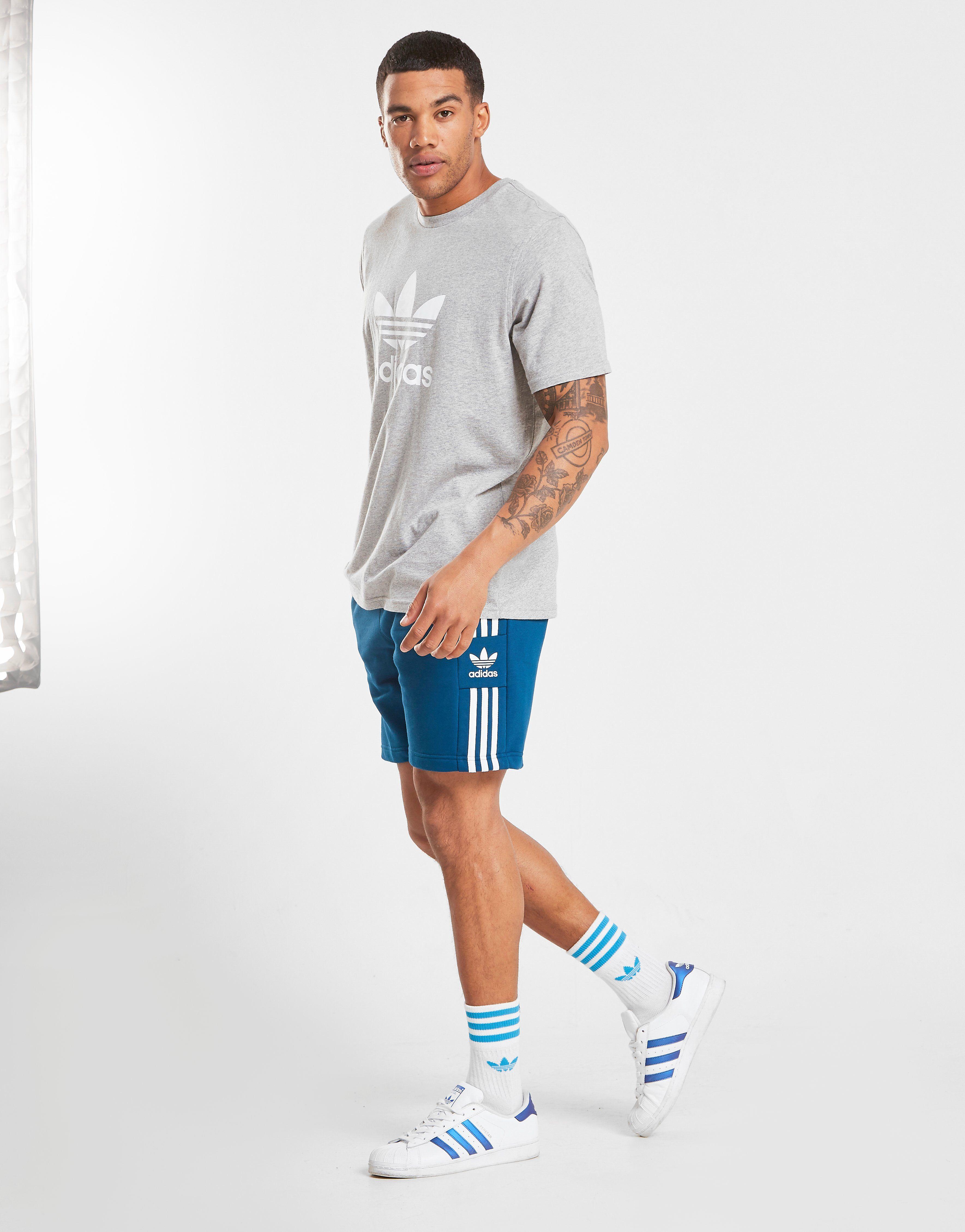 promoties Adidas Heren Adidas Originals Bermuda Blauw