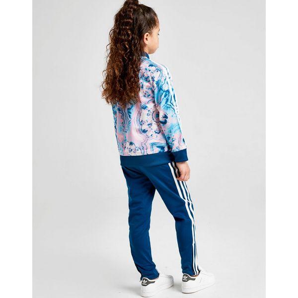 11ee9485bd3c7 ... adidas Originals Ensemble de survêtement Marble Superstar Fille Enfant