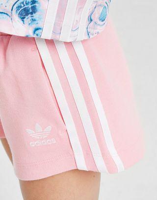 adidas Originals Girls' Marble T-Shirt/Short Set Kinderen