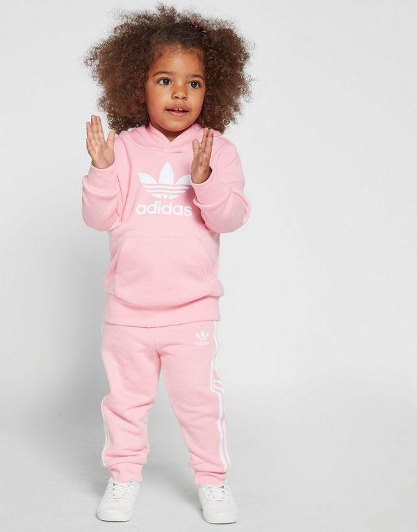 2b69046e151a8 adidas Originals Ensemble de Survêtement à Capuche Adicolour Fille Bébé