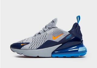 air max 270 orange bleu et noir