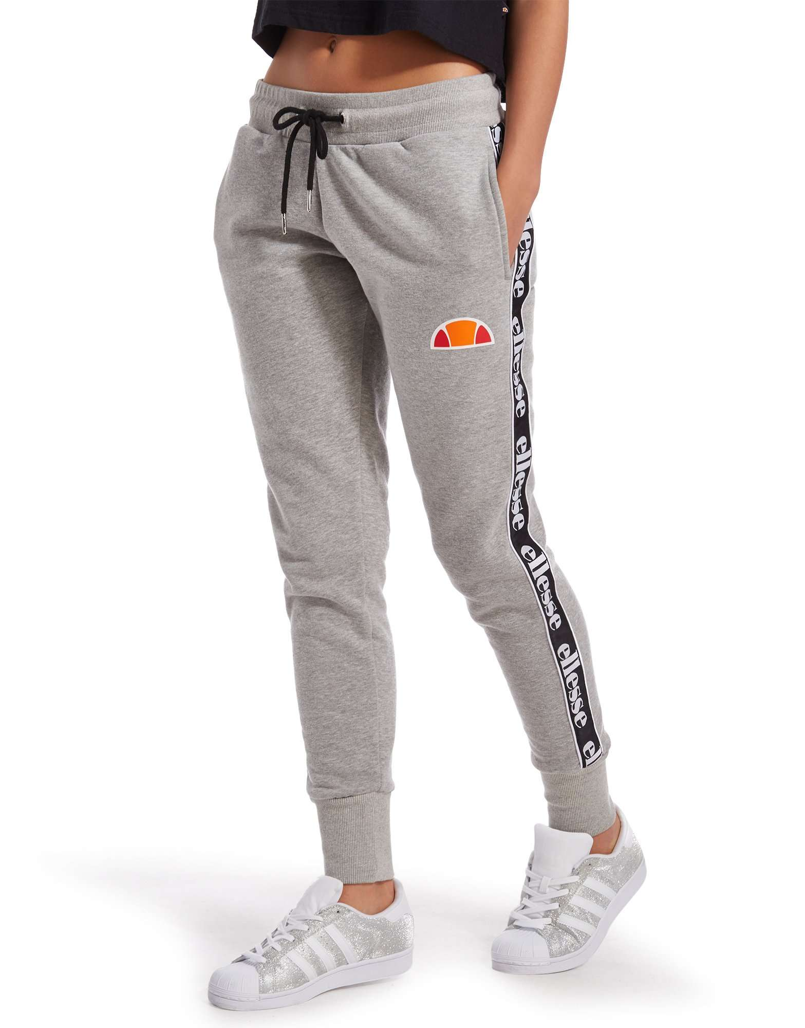Cool BRINK Women Melange Grey Track Pants