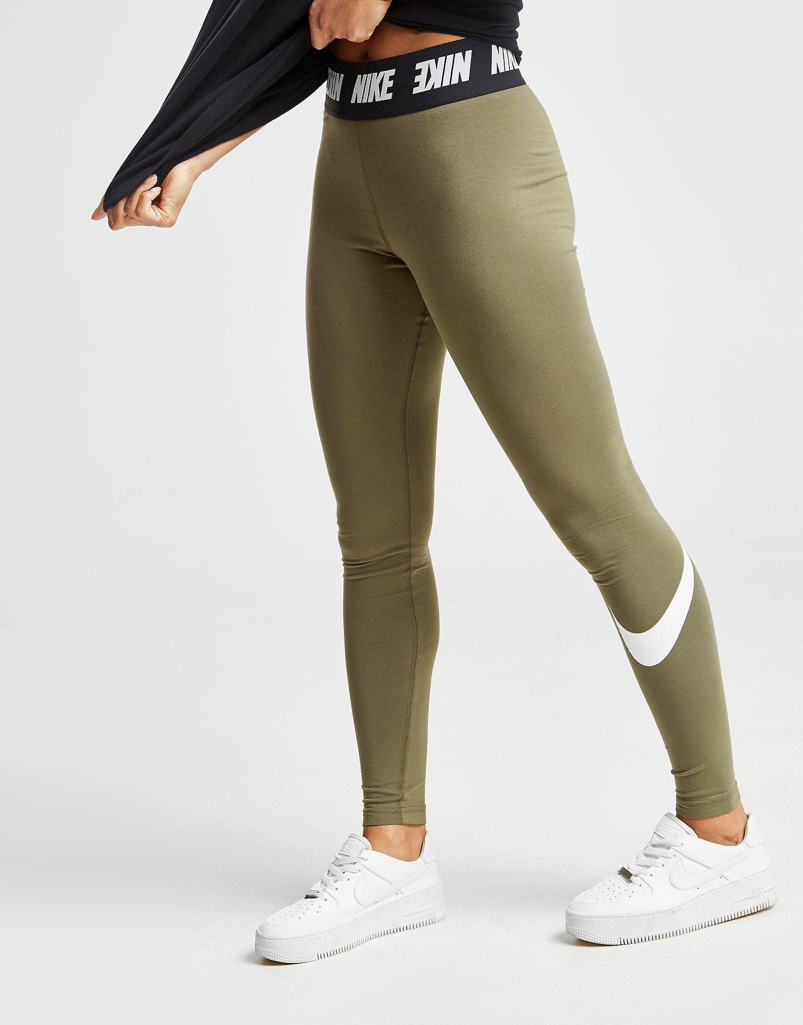 Nike Leggings Taille Haute Swoosh Femme