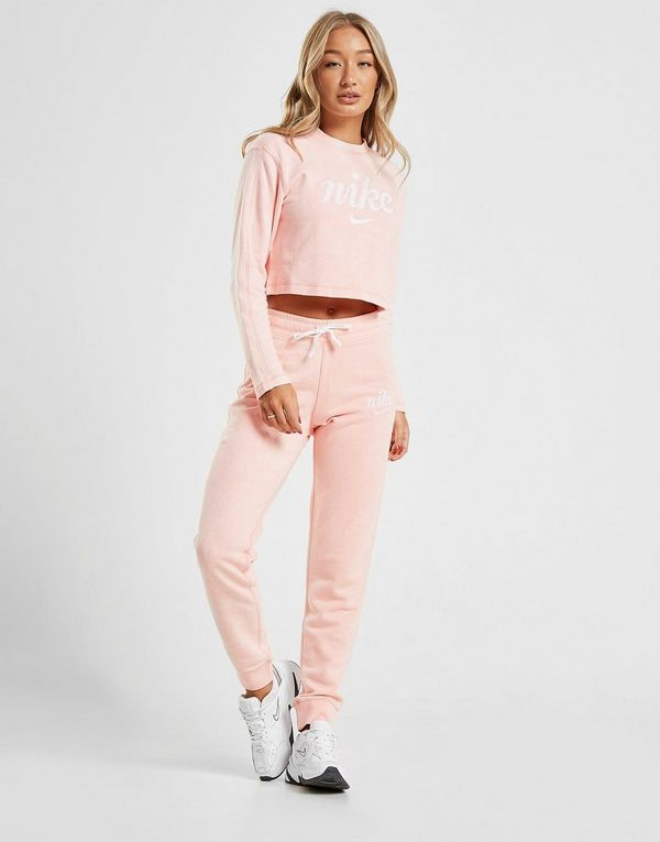 Nike Washed Crop Crew Sweatshirt