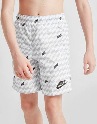 Nike Hybrid All Over Print Woven Swim Shorts Junior