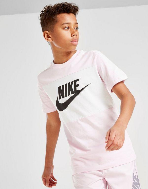 5bc690329 Nike Sportswear Colour Block T-Shirt Junior   JD Sports Ireland