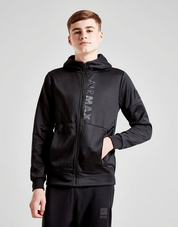 new style eea0a 989a0 Nike Air Max Poly Full Zip Hoodie Junior   JD Sports Ireland