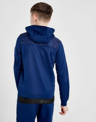 Nike Air Max Poly Full Zip Hoodie Junior