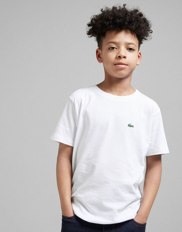 Lacoste Small Logo T Shirt Junior Jd Sports