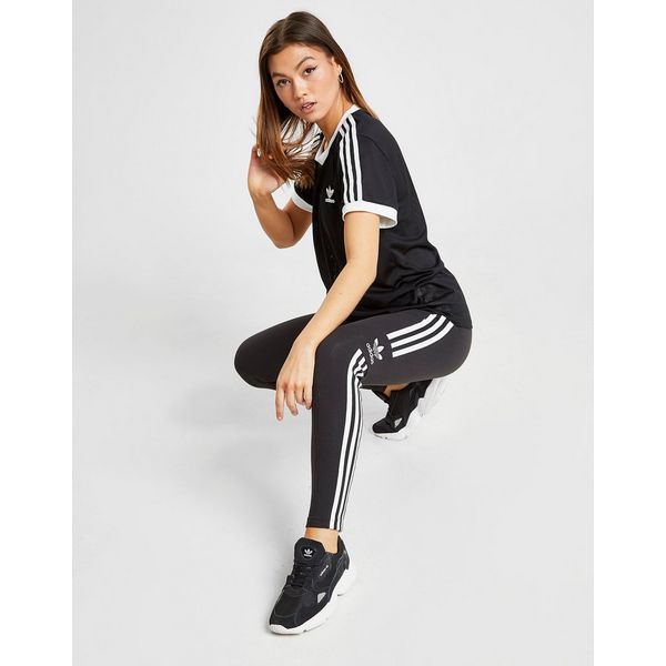 adidas Originals 3-Stripes Mesh California T-Shirt Dames
