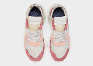 adidas femme nite jogger blanc rose